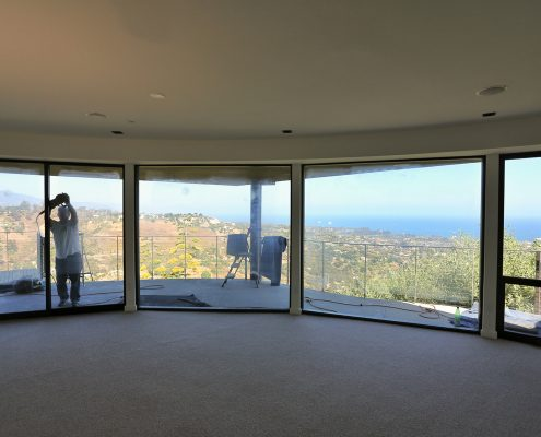 Glass resurfacing in Santa Barbara with Unscratch the Sutrface